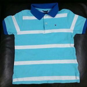 Tommy Hilfiger 5 stripe golf shirt